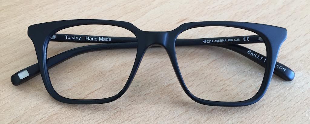 Nick Grant's glasses