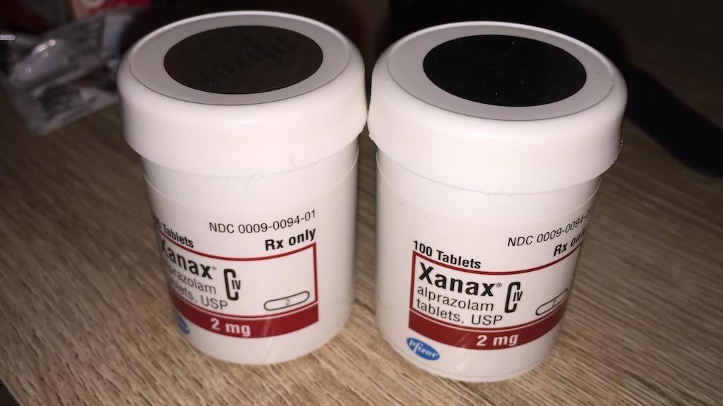 Xanax bottles