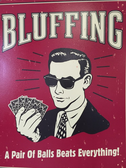 Bluffing Balls