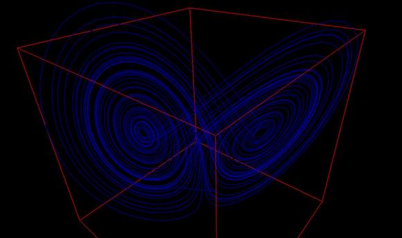 Lorentz attractor