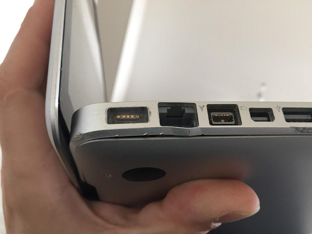 Macbook damage