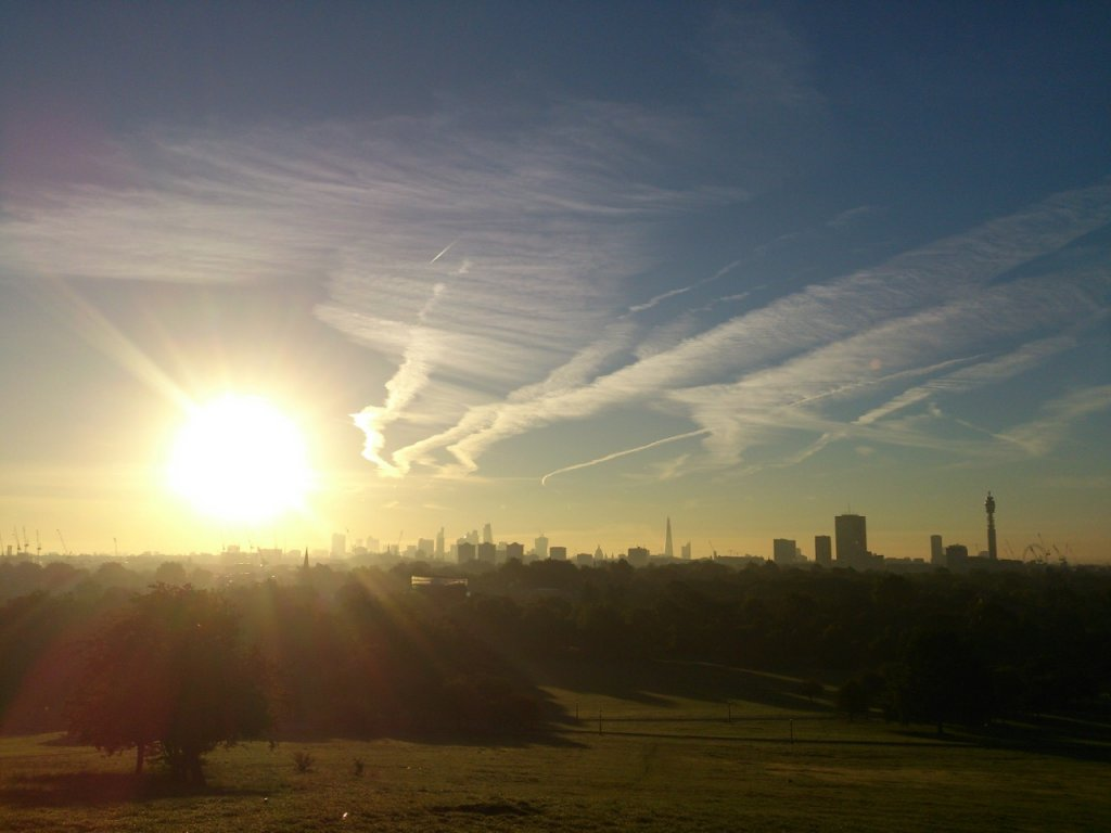Primrose hill sunrise
