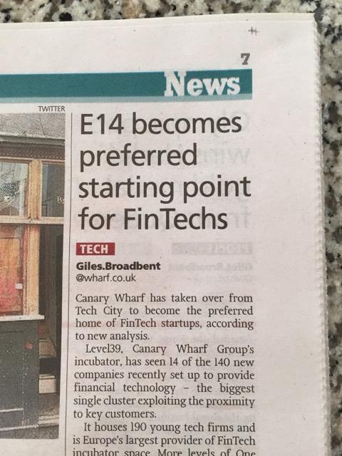 New home of Fintech