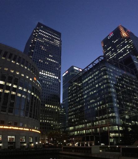Canary Wharf towers