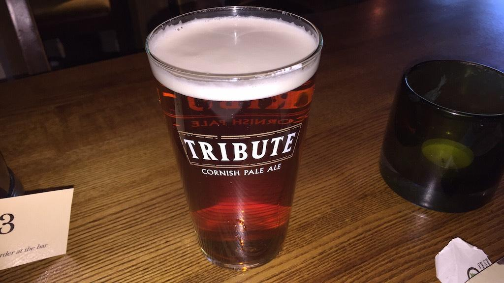 Pint in the pub