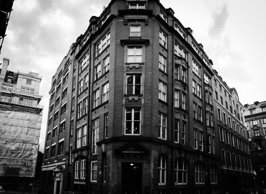 Manchester apartment block