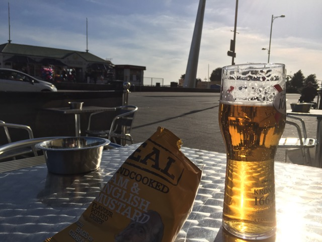 Beer in the sun
