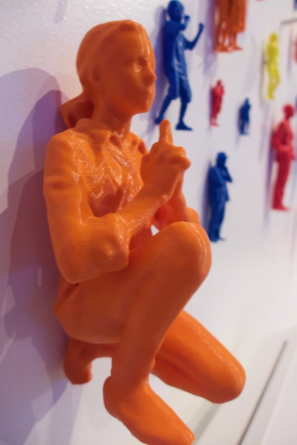 3D printed girl