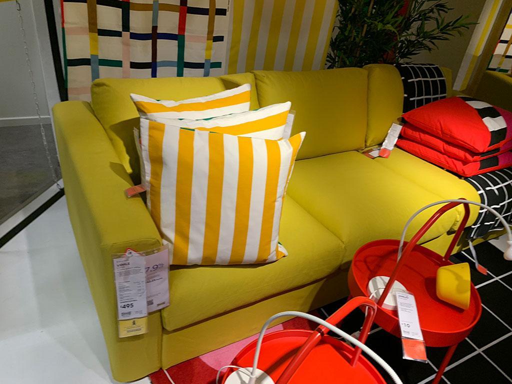 Lime sofa