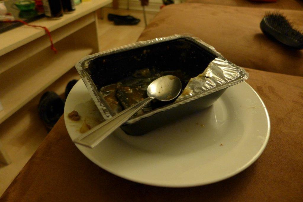 Finished dinner