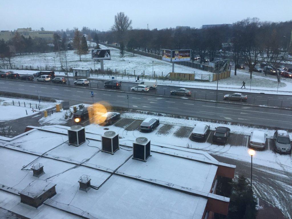 Warsaw snow