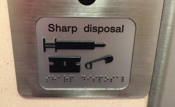 Sharp disposal