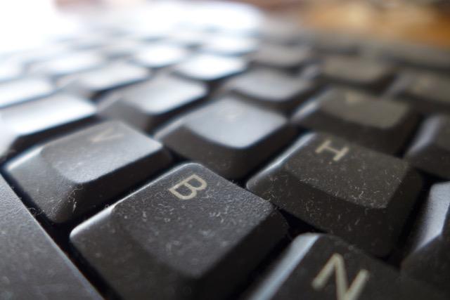 Dusty Keyboard