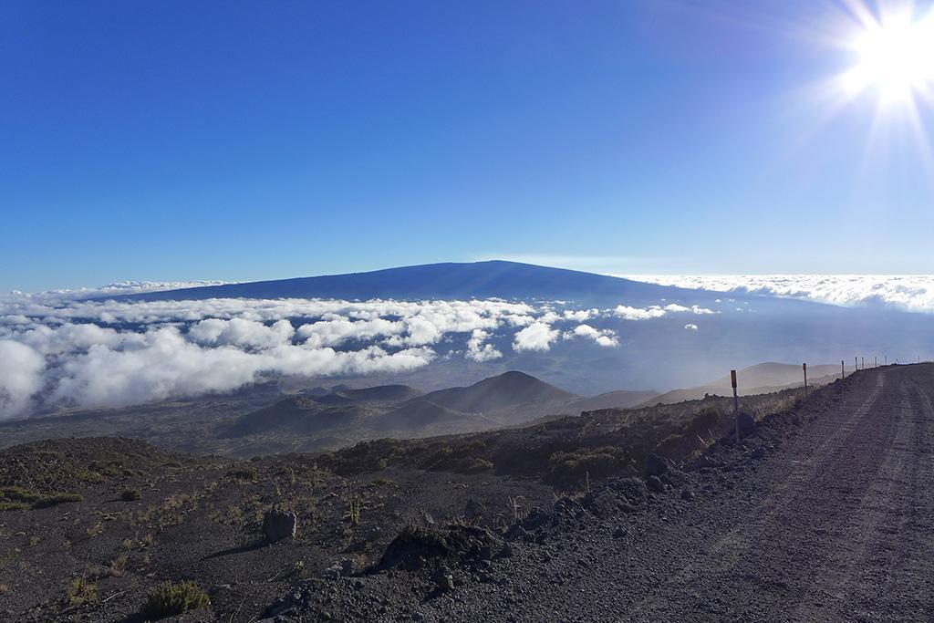 Hawaiian mountain