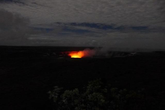 Night Time Volcano