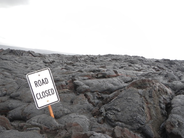 Blocked by Lava